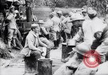 Image of Open air mess France, 1916, second 9 stock footage video 65675027284