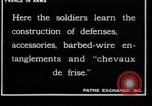Image of French soldiers France, 1918, second 3 stock footage video 65675027285