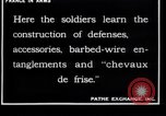 Image of French soldiers France, 1918, second 4 stock footage video 65675027285