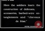 Image of French soldiers France, 1918, second 5 stock footage video 65675027285