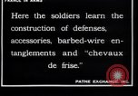 Image of French soldiers France, 1918, second 9 stock footage video 65675027285