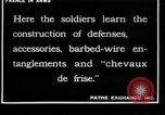 Image of French soldiers France, 1918, second 10 stock footage video 65675027285