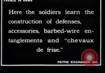 Image of French soldiers France, 1918, second 12 stock footage video 65675027285