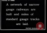 Image of French engineers France, 1917, second 2 stock footage video 65675027289