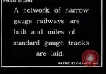 Image of French engineers France, 1917, second 6 stock footage video 65675027289