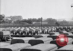 Image of French depot of reserve motor transports France, 1917, second 10 stock footage video 65675027292