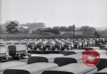 Image of French depot of reserve motor transports France, 1917, second 11 stock footage video 65675027292