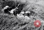 Image of French soldiers firing rifles France, 1916, second 10 stock footage video 65675027297