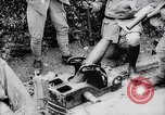 Image of French soldiers load shell on trench mortar France, 1916, second 11 stock footage video 65675027299