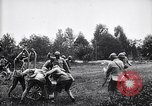 Image of French soldiers deploy  mortars France, 1916, second 9 stock footage video 65675027300