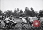 Image of French soldiers deploy  mortars France, 1916, second 10 stock footage video 65675027300