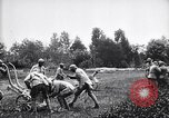 Image of French soldiers deploy  mortars France, 1916, second 11 stock footage video 65675027300