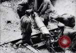 Image of French soldiers fire 240mm mortar France, 1916, second 10 stock footage video 65675027302
