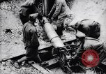 Image of French soldiers fire 240mm mortar France, 1916, second 11 stock footage video 65675027302