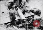 Image of French soldiers fire 240mm mortar France, 1916, second 12 stock footage video 65675027302