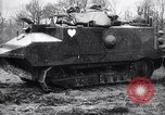 Image of French tanks World War 1 France, 1917, second 9 stock footage video 65675027303