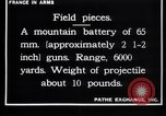Image of French soldiers France, 1916, second 7 stock footage video 65675027305