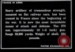 Image of French railroad guns France, 1916, second 9 stock footage video 65675027310