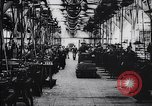 Image of French munitions factory workers in World War I France, 1915, second 5 stock footage video 65675027313