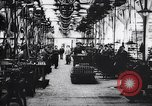 Image of French munitions factory workers in World War I France, 1915, second 6 stock footage video 65675027313