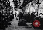 Image of French munitions factory workers in World War I France, 1915, second 7 stock footage video 65675027313