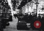 Image of French munitions factory workers in World War I France, 1915, second 8 stock footage video 65675027313