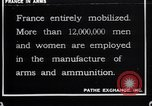 Image of French munitions workers France, 1915, second 1 stock footage video 65675027315