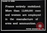 Image of French munitions workers France, 1915, second 8 stock footage video 65675027315