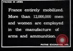 Image of French munitions workers France, 1915, second 11 stock footage video 65675027315