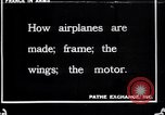 Image of French Aircraft factory France, 1916, second 1 stock footage video 65675027317