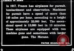 Image of French airplanes of World War 1 France, 1917, second 1 stock footage video 65675027319