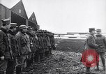 Image of French officers brief aviators France, 1918, second 6 stock footage video 65675027325