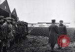 Image of French officers brief aviators France, 1918, second 8 stock footage video 65675027325