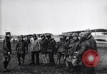 Image of French officers brief aviators France, 1918, second 9 stock footage video 65675027325