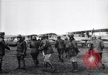Image of French officers brief aviators France, 1918, second 11 stock footage video 65675027325