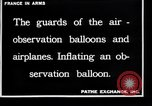 Image of French soldiers unfolding uninflated observation balloon France, 1916, second 3 stock footage video 65675027329