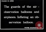 Image of French soldiers unfolding uninflated observation balloon France, 1916, second 7 stock footage video 65675027329