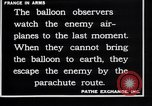 Image of French observation balloon France, 1916, second 7 stock footage video 65675027332