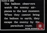 Image of French observation balloon France, 1916, second 12 stock footage video 65675027332