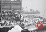Image of US troop ship backing out of berth New York United States USA, 1918, second 4 stock footage video 65675027343