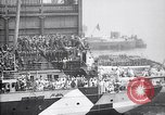 Image of US troop ship backing out of berth New York United States USA, 1918, second 5 stock footage video 65675027343