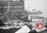 Image of US troop ship backing out of berth New York United States USA, 1918, second 6 stock footage video 65675027343