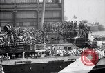 Image of US troop ship backing out of berth New York United States USA, 1918, second 9 stock footage video 65675027343