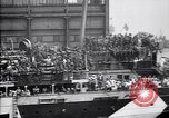 Image of US troop ship backing out of berth New York United States USA, 1918, second 10 stock footage video 65675027343
