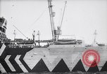 Image of Camouflaged troop ship World War I New York United States USA, 1918, second 8 stock footage video 65675027347