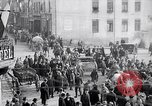 Image of German soldiers depart Aumetz France, 1918, second 1 stock footage video 65675027353