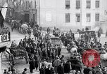 Image of German soldiers depart Aumetz France, 1918, second 3 stock footage video 65675027353