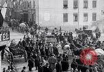 Image of German soldiers depart Aumetz France, 1918, second 4 stock footage video 65675027353