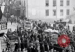 Image of German soldiers depart Aumetz France, 1918, second 9 stock footage video 65675027353