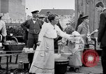 Image of German Army distributes food to youth in World War 1 Berlin Germany, 1914, second 6 stock footage video 65675027378